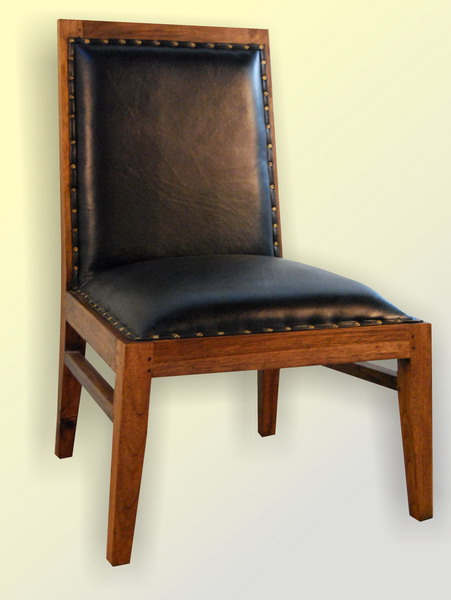 Valeria Chair Black Leather